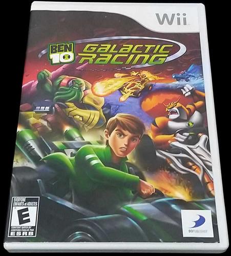 Ben 10 Galactic Racing Nintendo Wii Original Completo