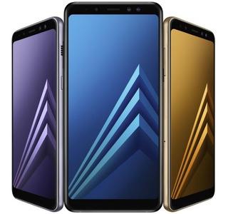 Celular Samsung A8 Libre + Combo Protección