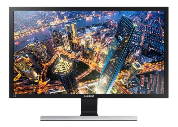 Samsung Monitor U28e590 - Ultra Hd 4k 28 Preto Base Metalica