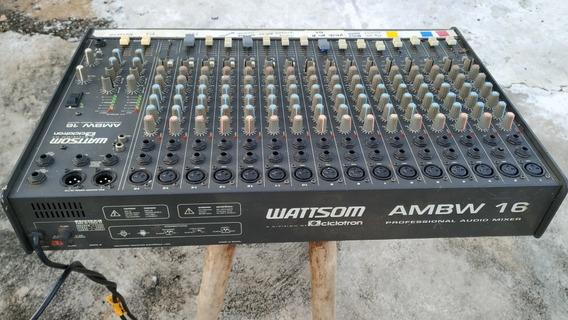 Mesa De Som Ciclotron Ambw 16