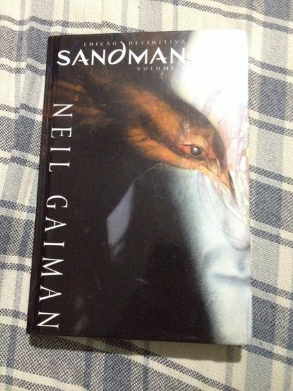 Livro Sandman - Edição Definitiva - Volume 1 - Capa Dura
