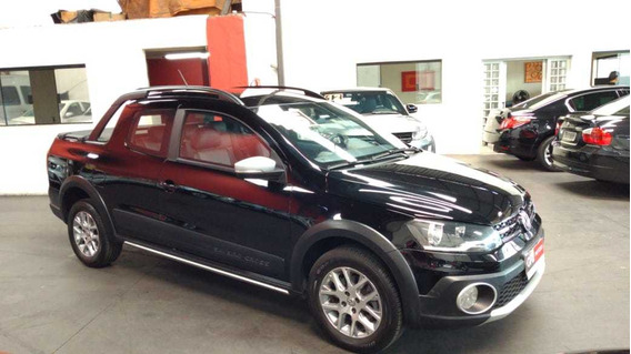 Vw Saveiro Cross 1.6 Cabine Dupla 2015 ((( Blindado )))