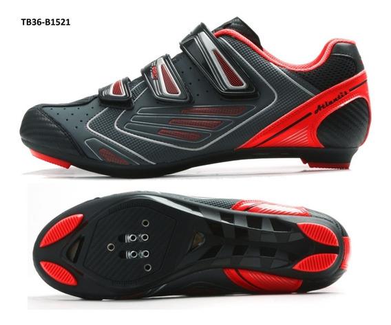 Zapatillas Zapatos Bicicleta Ruta Sbk Ciclismo Tb36-b1521