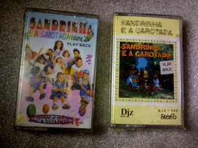 2 K7 Sandrinha E A Garotada Vol 1 E 2 Play Back Lacrado .