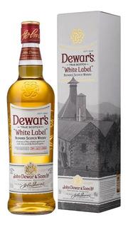 Whisky Dewars White Label 750ml Whiskey Escoces Scotch