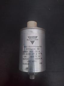 Capacitor 20uf 850v Vishay ; Correção Fator De Potencia