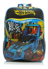Mochila Sestini Infantil Hot Wheels G - 16m