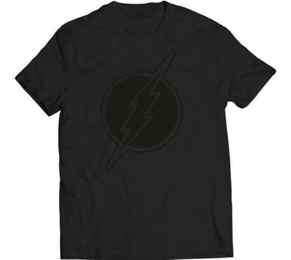 Xperma Playera Hombre Flash Logo Black