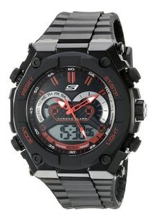 Reloj Skechers Hombre,analógico-digital,sumergible,hora Dual