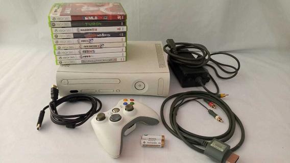 Xbox 360 Usado Completo - Único No Mercado Livre