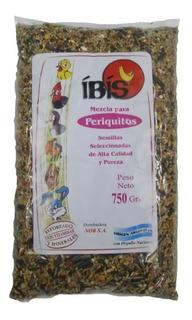 Alimento Aves Periquitos Ibis 750 Gr