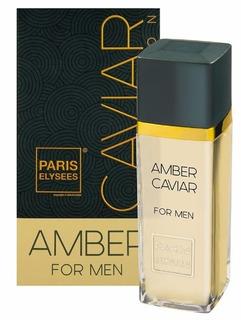Perfume Masculino Amber Caviar - Paris Elysees 100 Ml