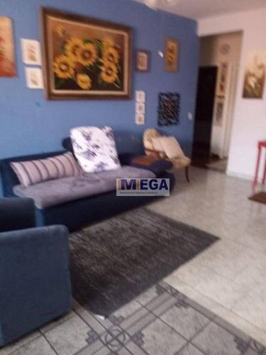 Imagem 1 de 15 de Casa Com 3 Dormitórios À Venda, 147 M² Por R$ 479.900,00 - Jardim Estoril - Campinas/sp - Ca2424
