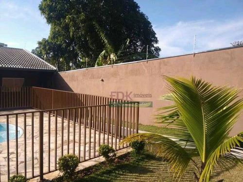 Imagem 1 de 9 de Chácara Com 1 Dormitório À Venda, 360 M² Por R$ 276.000,00 - Jardim Colônia - Jacareí/sp - Ch0304