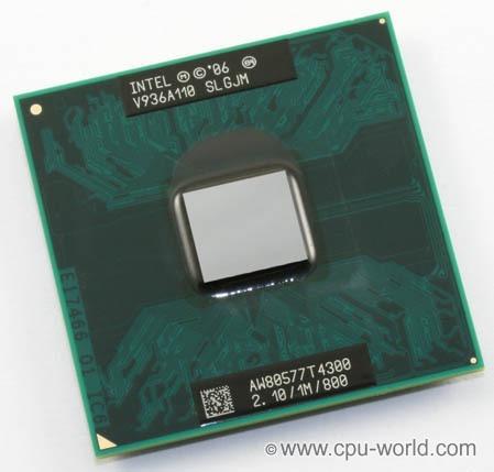 Processador P/ Note Intel Dual Core T4300 2.10/800/1mb