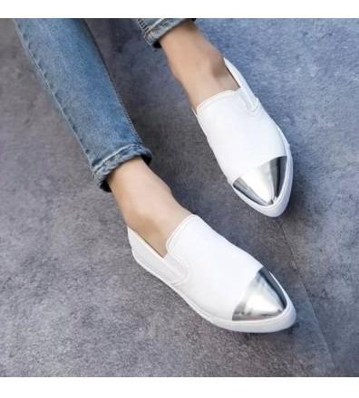 Zapatillas Mujer Panchas Honolulu Blancas