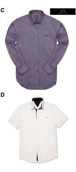 Camisas Tommy Mezclilla Caballero Paquete 2 Piezas Original