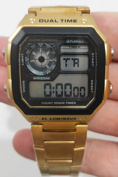 Relógio Masculino Skmei 1335 Digital Esportivo Original