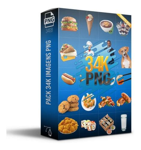 Pack 34 Mil Imagens Png+bônus