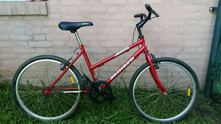 Bicicleta Skinred Hopi R24 Rojo Metaliz ¡excelente Regalo!