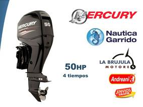Mercury 50 Hp 4t Elpt Nautica Garrido - La Brujula Motores