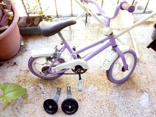 Bicicleta Niña Con Rueditas