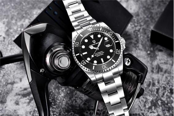 Relógio Pagani Submariner, Automático, Aço Inox, Promoção