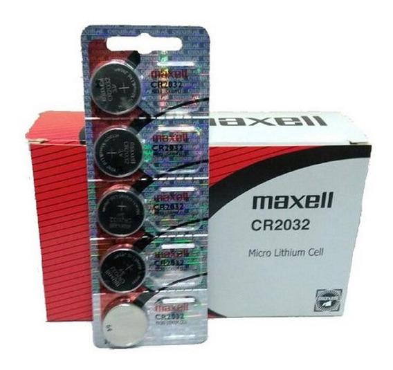 Bateria Pilha Cmos Bios Maxell Cr2032 3v Original 10 Unidade