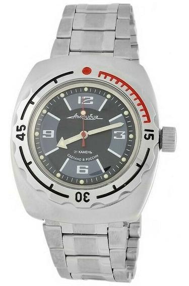 Reloj Vostok Amphibian Diver 200m Automático