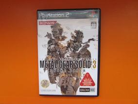Metal Gear Solid 3 Original Jp Playstation 2