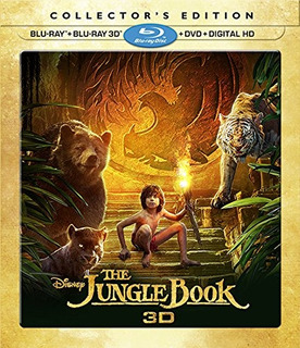 Blu-ray 3d : The Jungle Book (3d) (with Blu-ray, With Dv...