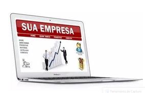 Criação De Site Para Empresas+hospedagem