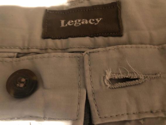 Pantalón De Vestir Legacy Original Color Gris