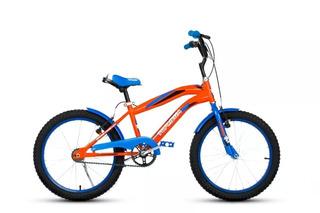 Bicicleta Cross R20 Bmx Varon - Niño Top Mega Envios + Linga