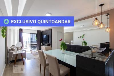 Apartamento No 18º Andar Mobiliado Com 2 Dormitórios E 2 Garagens - Id: 892931900 - 231900