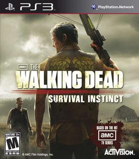 The Walking Dead Survival Inistinct Digital Ps3