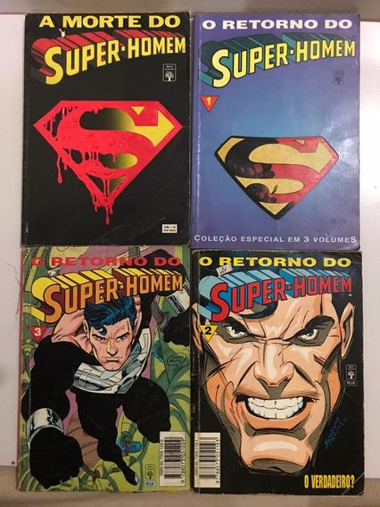 Saga Completa A Morte Do Super Homem Hq