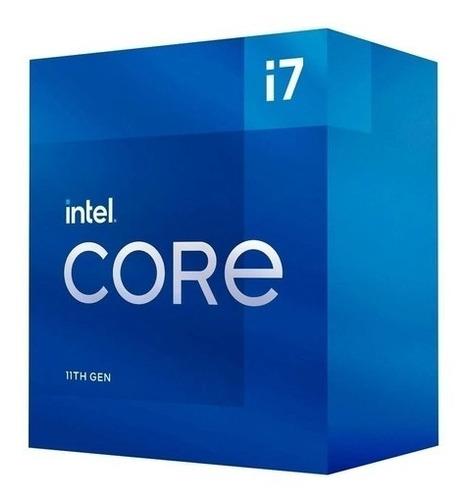 Imagem 1 de 2 de Processador Intel Core I7 11700 2,50 Ghz 16 Mb 11º Geração