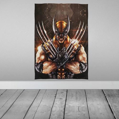 Imagem 1 de 3 de Stompy Tecido Decorativo Decoração Wolverine Logan