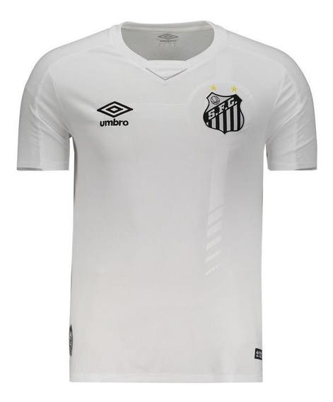 Camisa Umbro Santos I 2019 Com Número