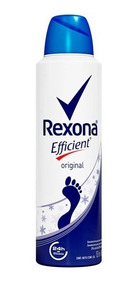 Desodorante Aerosol Para Os Pés Rexona Efficient 153ml