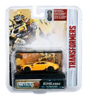 Transformers Vehiculo De Coleccion Metal Escala 1:64