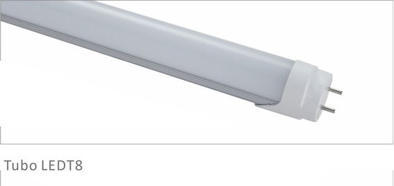 Kit 4 Lâmpada Led T8 Tubular 9w 60cm Branca Fria 2087b