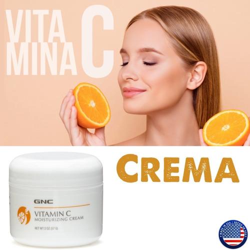 Crema Facial Vitamina C Anti Envejecimiento Y Manchas- 57gr
