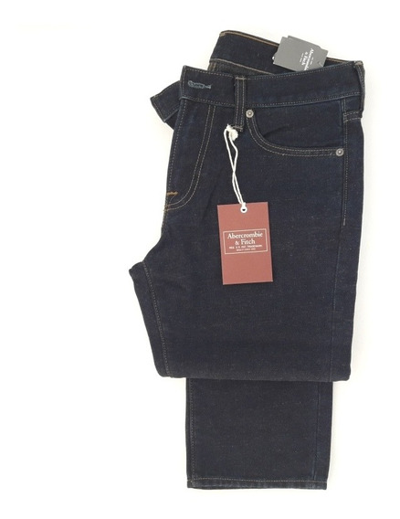 Jeans Abercrombie And Fitch Original Importado Skinny Hombre