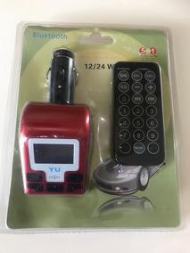 Transmissor Bluetooth Fm Mp3 Veicular Wireless