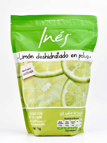 Limón En Polvo Jugo 100% Natural 10 Kilos