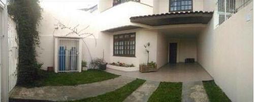 Sobrado Com 4 Dormitórios À Venda Com 202m² Por R$ 700.000,00 No Bairro Bom Retiro - Curitiba / Pr - 302r