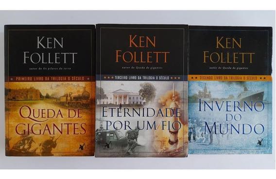 Kit Livros - Ken Follett Trilogia O Século (3 Volumes)