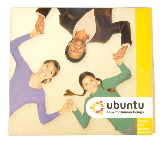 Ubuntu 5.10 64 Bit - 2 Cds - Raridade